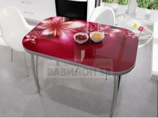 Стол со стеклом Фантазия - Мебельная фабрика «Вавилон58»