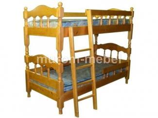 Кровать двухъярусная точеная - Мебельная фабрика «Муром-мебель»