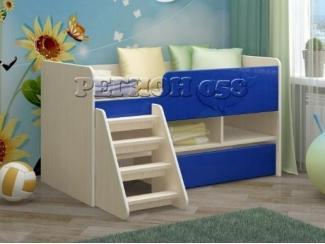 Удобная детская кровать Юниор 3 - Мебельная фабрика «Регион 058»