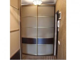 Радиусный встроенный шкаф с ящиками - Мебельная фабрика «ТРИ-е»