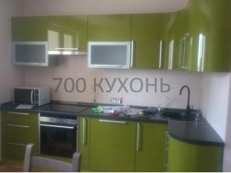 Зеленая угловая кухня  - Мебельная фабрика «700 Кухонь»