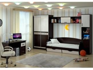 Спальня детская Милания - рисунок Роза - Мебельная фабрика «БелДревМебель»
