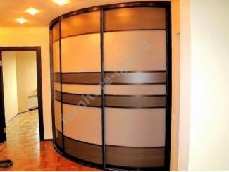 Большой радиусный шкаф-купе