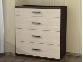 Комод высокий 4 ящика - Мебельная фабрика «Абсолют»