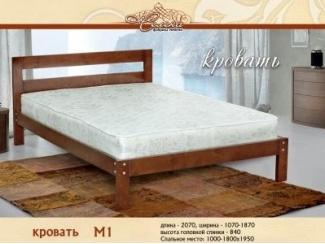 Кровать М 1 - Мебельная фабрика «Селена»