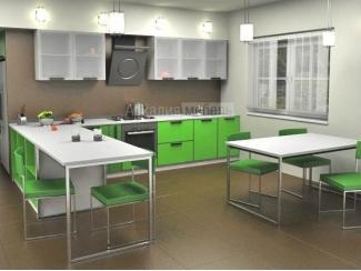 Кухня в алюминиевой рамке Энергия 3 - Мебельная фабрика «Аркадия-Мебель»