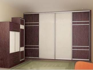 Прихожая с большим шкафом-купе Нелли  - Мебельная фабрика «Анкор»
