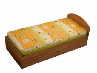 Кровать c выдвижными ящиками из ламинированной ДСтП