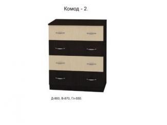 Комод 2 - Мебельная фабрика «Союз мебель»