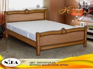 Кровать из дерева Юлия