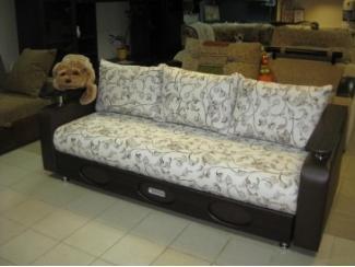 Диван Фокстрот с деревянными подлокотниками - Мебельная фабрика «Опал сервис»