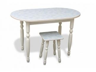 Стол Радиусный фигурные ноги - Мебельная фабрика «Александрия»