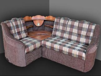 Угловой диван Лилия с баром - Мебельная фабрика «Дуэт»