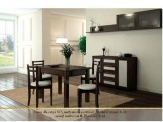 Обеденный комплект 14 - Мебельная фабрика «Верба-Мебель»