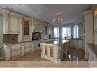 Кухня Барокко  из массива дуба - Мебельная фабрика «Лидер Массив»