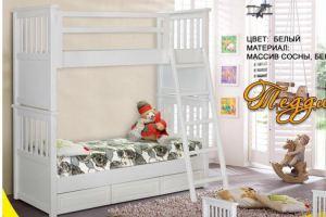 Детская 2х-ярусная кровать Тедди - Мебельная фабрика «НИКА»