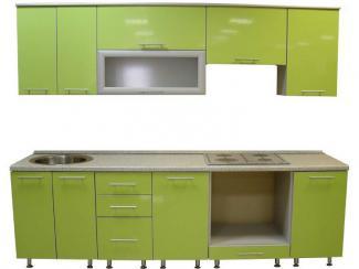 Кухня прямая Зелень - Мебельная фабрика «Антарес»