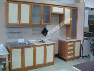 Кухонный гарнитур прямой Ольха
