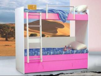 детская кровать 2х ярусная 3  - Мебельная фабрика «Элфис»