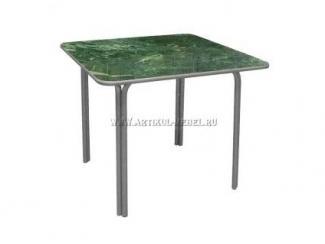 Стол металлический Пластик 90х90