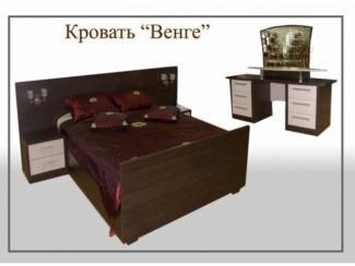 Кровать Венге - Мебельная фабрика «Нэнси»