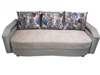 Стильный диван с цветами  - Мебельная фабрика «Идиллия»