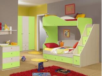 Детская модульная Командор-4 комплектация 2 - Мебельная фабрика «Аристократ»