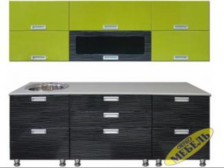 Кухня прямая 19 - Мебельная фабрика «Трио мебель»