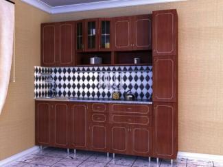 кухня прямая «Глория 3» - Мебельная фабрика «Мир Мебели»