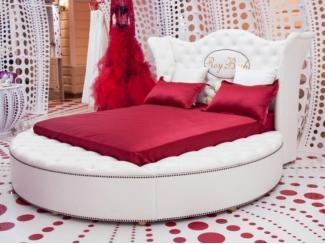 Круглая кровать Джессика  - Мебельная фабрика «Рой Бош»