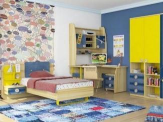 детская Джинс (комплектация 1) - Мебельная фабрика «Любимый дом (Алмаз)»