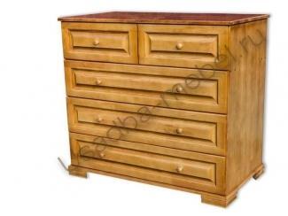 Комод 5 ящиков из дерева - Мебельная фабрика «Усад»