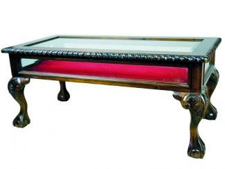 Стол журнальный MJ517-M BROWN - Импортёр мебели «Галерея Гику»