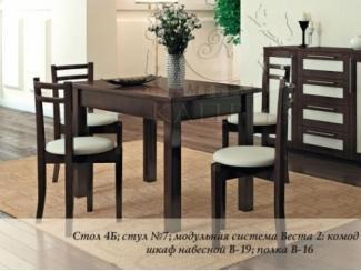 Обеденная группа №7 - Мебельная фабрика «Каприз»
