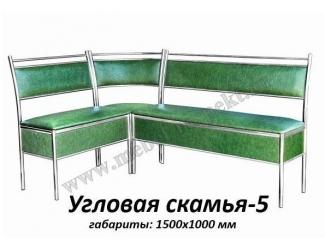 Угловая скамья 5 - Мебельная фабрика «Респект»