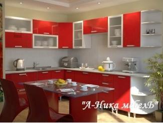 Глянцевый кухонный гарнитур Каролина - Мебельная фабрика «А-Ника»