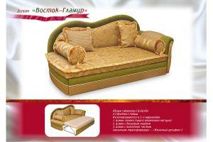 Диван прямой Восток Гламур - Мебельная фабрика «Мебель Волга»