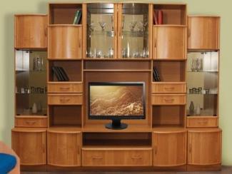 Гостиная стенка Татьяна 10 - Мебельная фабрика «Кошелев и К»