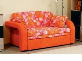 Оранжевый диван Соната 1 - Мебельная фабрика «Сильва»