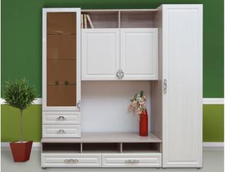 гостиная стенка Венеция 2 - Мебельная фабрика «Комодофф»
