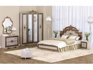 Идеальный спальный гарнитур Сицилия  - Мебельная фабрика «ИнтерДизайн»