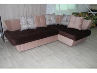 Угловой диван с подушками Силуэт 2