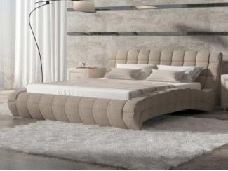 Светлая кровать Милано