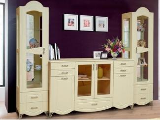 Классический дизайн гостиной Аврора 15 - Мебельная фабрика «Аджио»