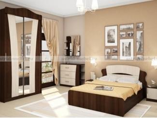 Спальный гарнитур Ника 1 - Мебельная фабрика «Астрид-Мебель (Циркон)»