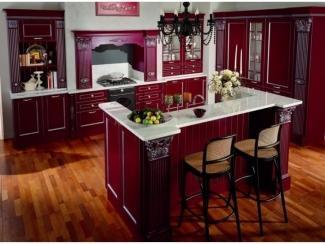 Красная кухня Агат 12