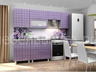 Кухонный гарнитур Премьер Фиолетовый металлик