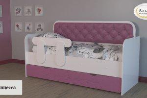 Детская кровать Принцесса - Мебельная фабрика «Альбина»
