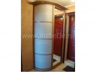 Распашной шкаф с радиусной дверью - Мебельная фабрика «ТРИ-е»