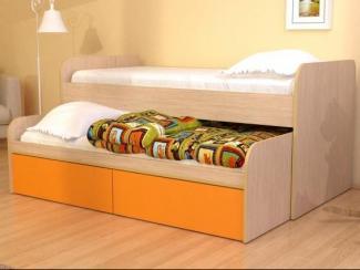 Кровать двойная с ящиками - Мебельная фабрика «Мистер Хенк»
